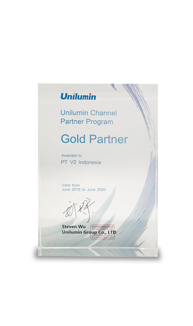 Unilumin Channel Partner Program Gold Partner