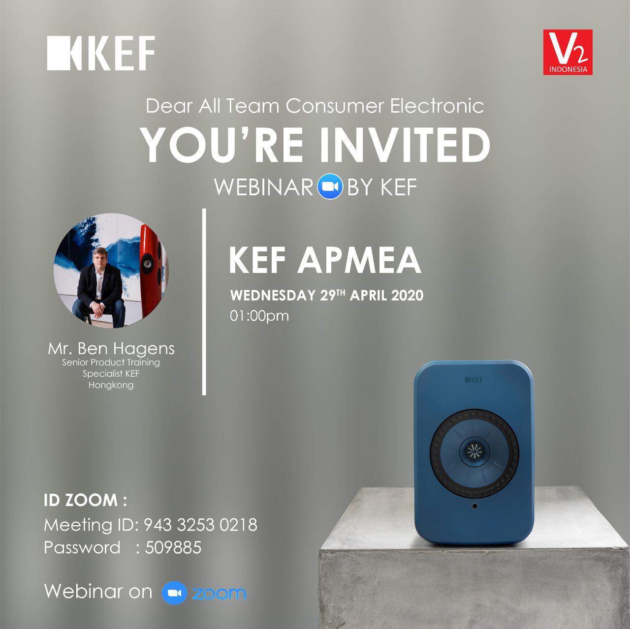 WEBINAR BY KEF APMEA