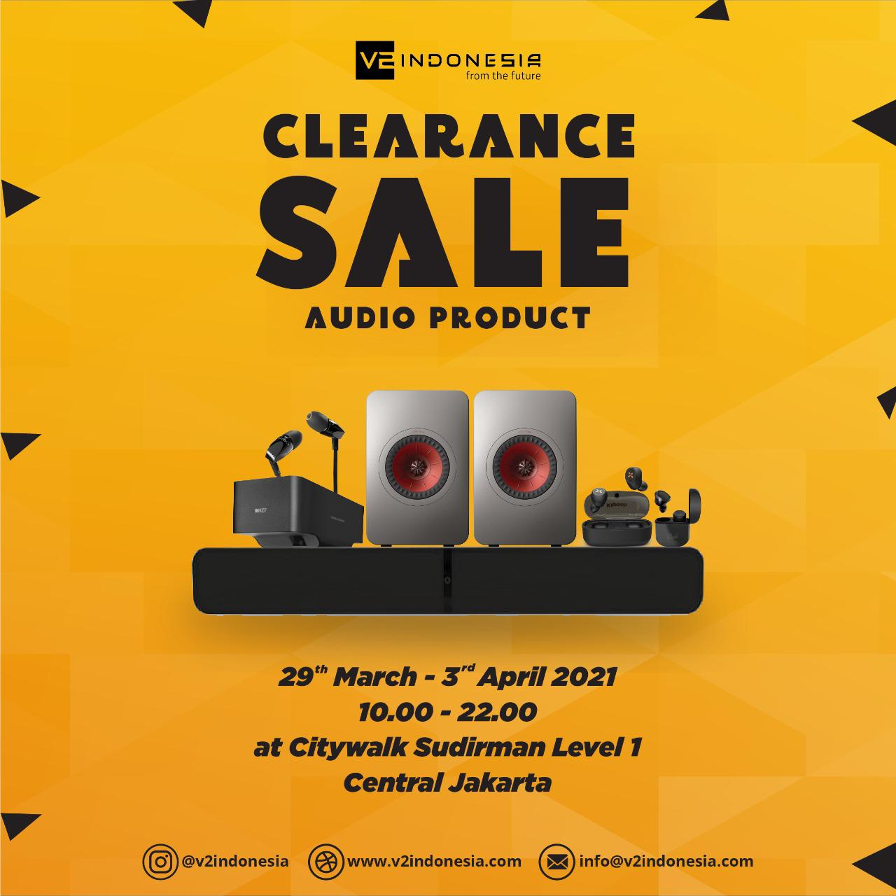 Clearance Sale Audio Product