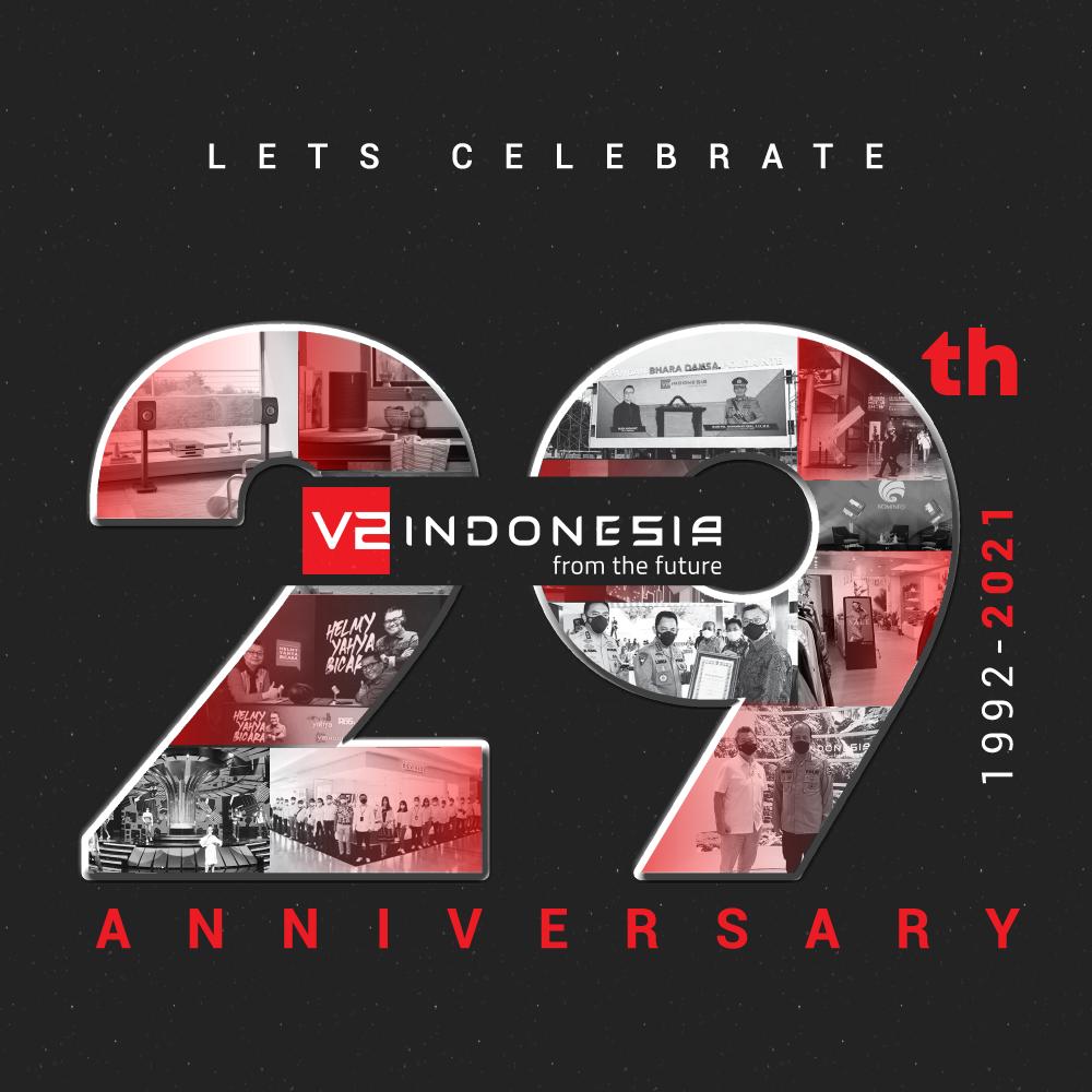 V2 Indonesia 29 Anniversary