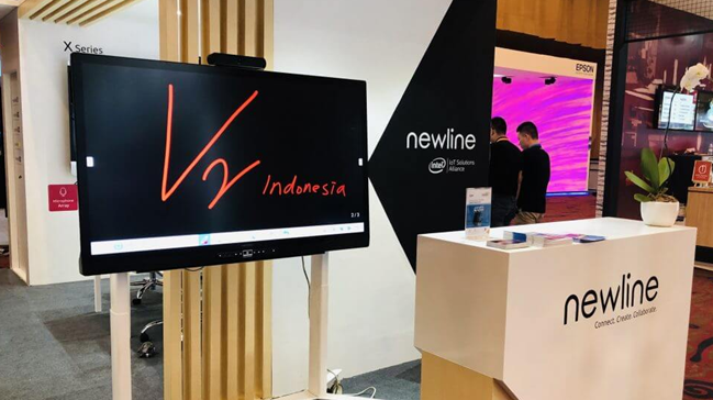 Newline Unveils Latest Collaboration Solutions at Jakarta AV Week 2019