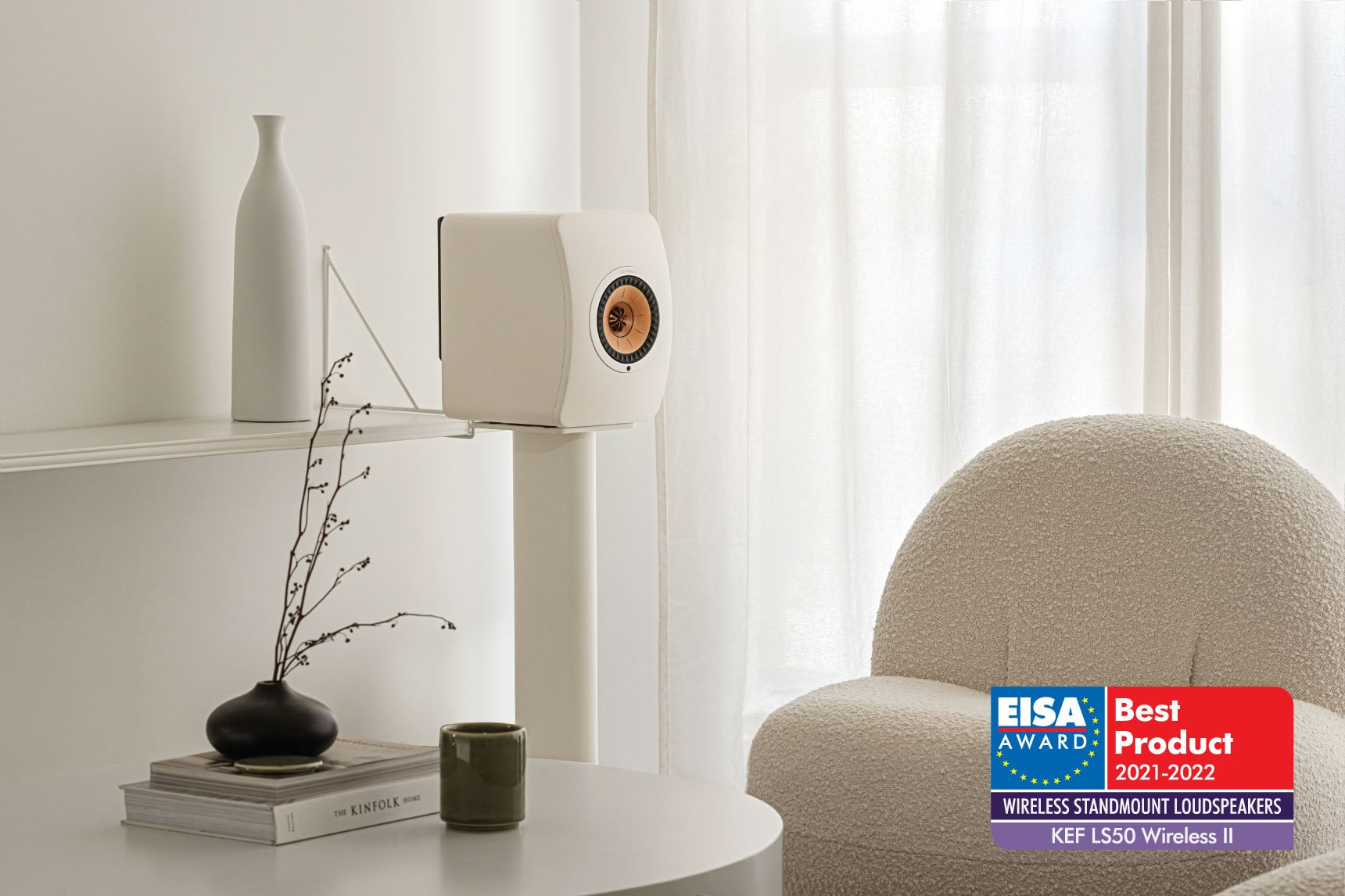 KEF Triumphs with a Triple Win in EISA Awards 2021-2022