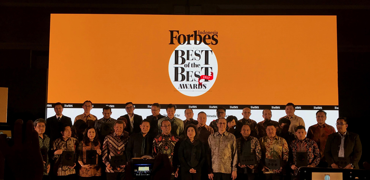Indonesia Forbes Best Of The Best Award