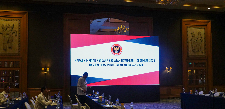 Rapat Pimpinan Rencana Kegiatan November-Desember 2020 dan Evaluasi Penyerapan Anggaran