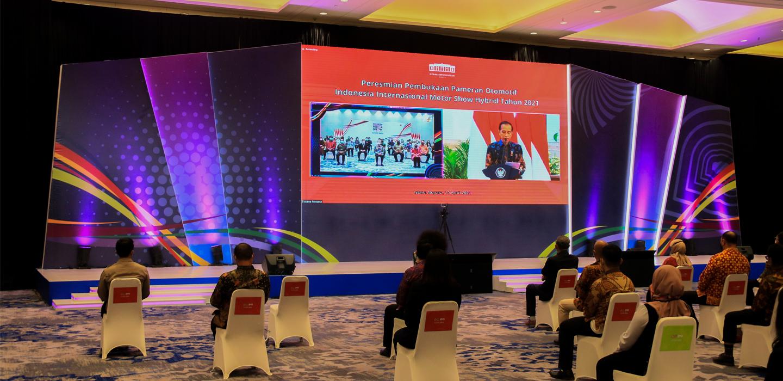 PEMBUKAAN PAMERAN OTOMOTIF INDONESIA INTERNATIONAL MOTOR SHOW HYBRID 2021
