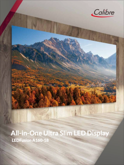 Calibre All-in-One Ultra Slim LED Display